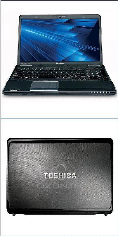 Обзор ноутбука Toshiba Satellite A665