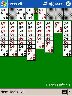 Freecell for Pocket PC