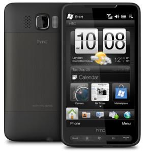 """Смартфон с ОС WM """"HTC-HD2""""."""