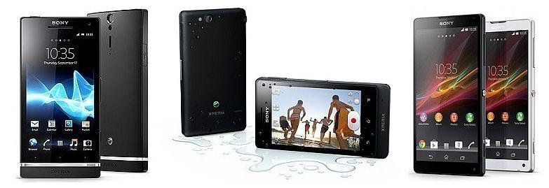 сотовые телефоны Sony