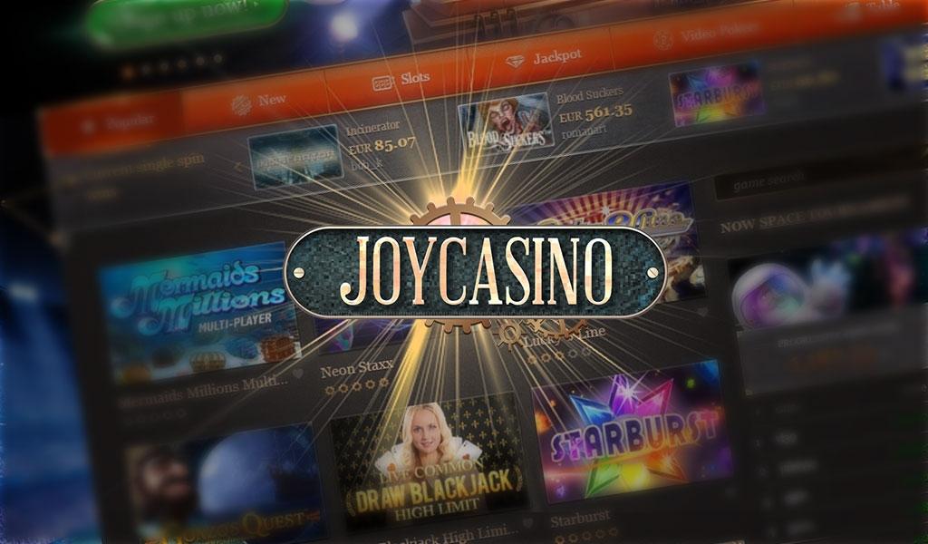 официальный сайт играть бесплатно джойказино